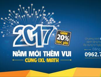 Chương trình Năm mới thêm vui cùng IXL Math